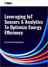 Leveraging IoT Sensors & Analytics To Optimize Energy Efficiency - Iota Communications